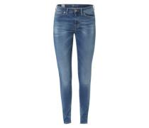Skinny Jeans 'The Cherry' blau