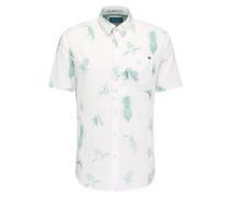 Shirt Randall türkis / weiß