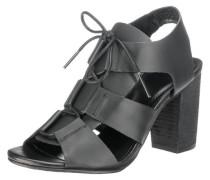 Sandaletten 'Plaisir' schwarz