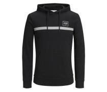 Sweatshirt Reflektierendes schwarz