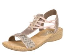 Sandaletten beige / rosé