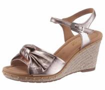 Sandalette rosegold