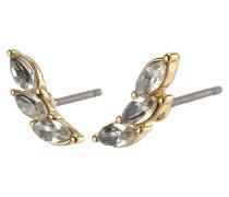 Ohrringe 'Mathilde' gold / silber