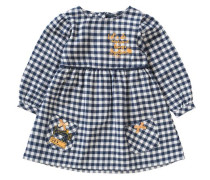 Baby Kleid blau / weiß