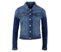Jeansjacke aus Stretch-Denim blue denim