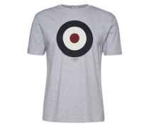 Shirt 'target Tee' graumeliert