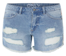 'Onlcarrie' Jeansshorts blue denim