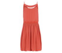Sommerkleid mit Spaghettiträgern rot