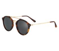 Sonnenbrille 'Fitzroy' braun / schwarz