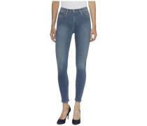 """Jeans """"HI Rise Skinny 7/8 Santana Slbgst"""" blau"""
