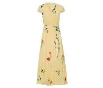 Kleider Wrap Dress Cap Sleeve Volant (Ss18 Jan)
