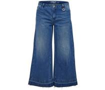 Hosenrock-Bootcut Jeans Bella reg blau