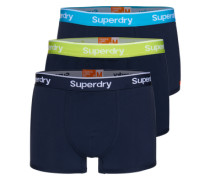Boxershorts 'O L Sport Trunk Triple Pack' navy