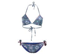 Bikini-Set 'Shania' blau / rot