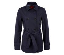 Jacke im Trenchcoat-Style navy