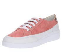 Sneaker 'tahina' koralle / weiß