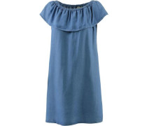 Minikleid Damen blue denim