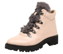 Stiefelette 'Asur' in Lack-Optik nude