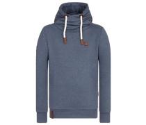 Sweatshirt 'Küfürbaz AMK Iii' blaumeliert