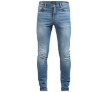'Damien Haggard' Skinny Fit Jeans blue denim