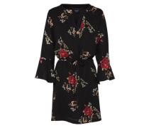Mini-Kleid 'glans-2' rot / schwarz