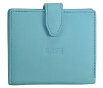 Fantastic 127 Geldbörse Leder 9 cm blau