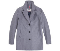 Mantel T'hdw Basic Coat 12' grau