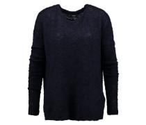 Pullover mit Wollanteil 'Mattis' blau
