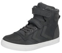 Kinder Sneakers high Stadil aus Leder grau