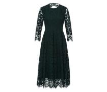 Kleid Lacedress Fit & Flare (Ss17) dunkelgrün