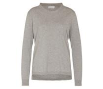 Pullover mit Kaschmir silber