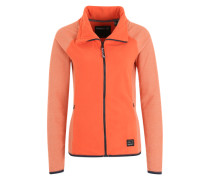 Fleecejacke 'Ventilator' orange