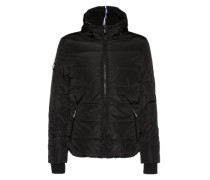 Steppjacke 'Polar Sports Puffer' schwarz
