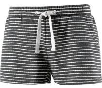 'mosquito' Shorts Damen schwarz / weiß