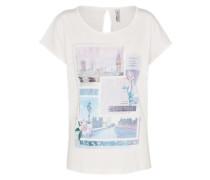 Shirt 'Kane R' opal / flieder / weiß