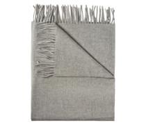 Woll-Schal 'Frame' grau