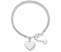 Armband »Herz LBA0102-001-12-L195v« silber