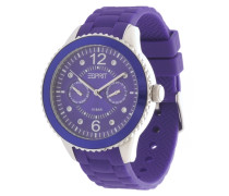 Armbanduhr Es105332006 dunkellila