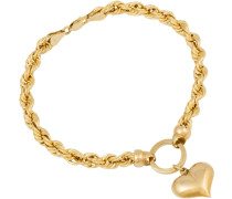 Armband »Herz« gold