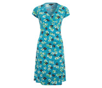 Jerseykleid mit Vintage-Charme mischfarben