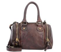 Bauletto Mini Bag Handtasche Leder 20 cm braun