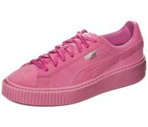 'Basket Platform Reset' Sneake Damen pink