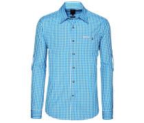 Hemd Campos2 blau