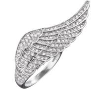 Fingerring 'Flügel Silber Crystal Err-Wing-01-Zi'
