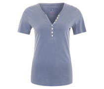 Jerseyshirt 'Ranja' taubenblau