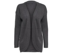 Langer Strick-Cardigan graphit