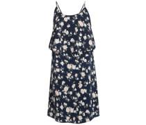 Sommer-Print-Kleid navy