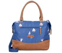 'Esterhazy' Handtasche 32 cm blau / braun