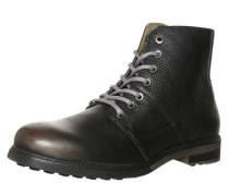 Leder-Boot 'Papa' schwarz