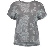 T-Shirt 'LW Sublimation Print' blau / weiß